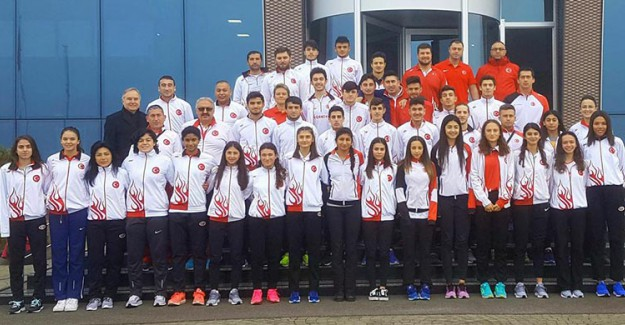 Milli Atletlerden Şampiyonada 17 Madalya