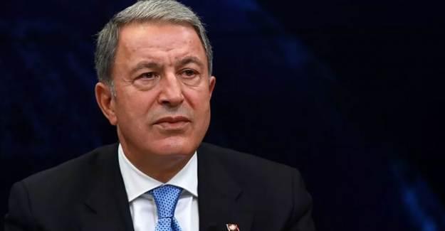 Milli Savunma Bakanı Akar'dan Deniz Yetki Alanı Açıklaması