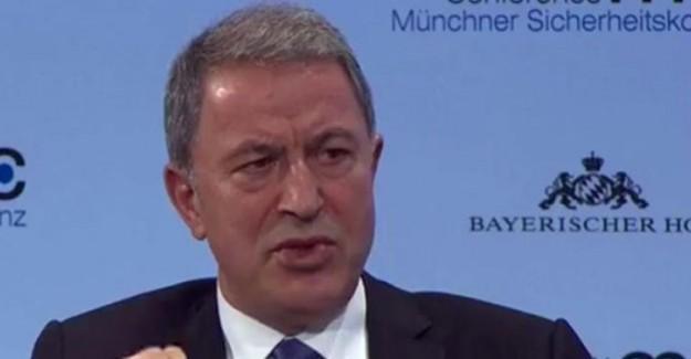 Milli Savunma Bakanı Hulusi Akar: Kimsenin Toprağında Gözümüz Yok