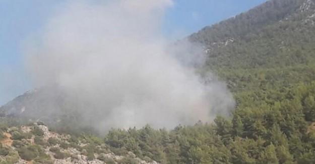 Muğla'da Korkutan Bir Yangın Daha