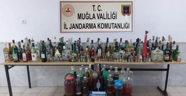 Muğla'da Sahte İçki Operasyonu