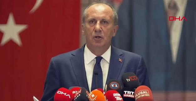 Muharrem İnce HDP'nin CHP'ye Desteğini Açıkladı