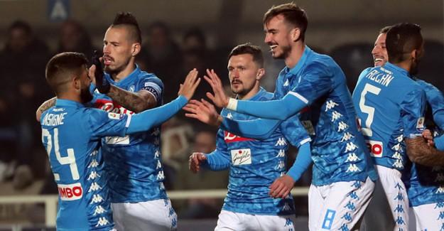 Napoli, Zorlu Atalanta Deplasmanından 3 Puanla Döndü!