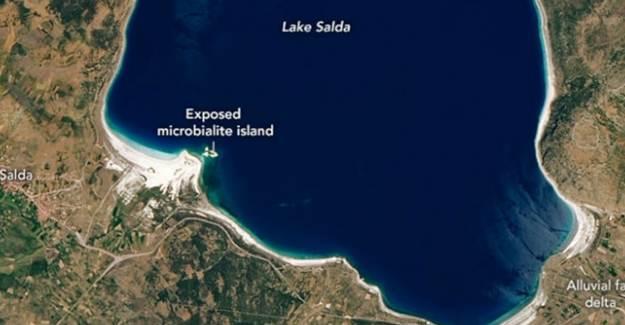 NASA'dan 'Salda Gölü' Paylaşımı