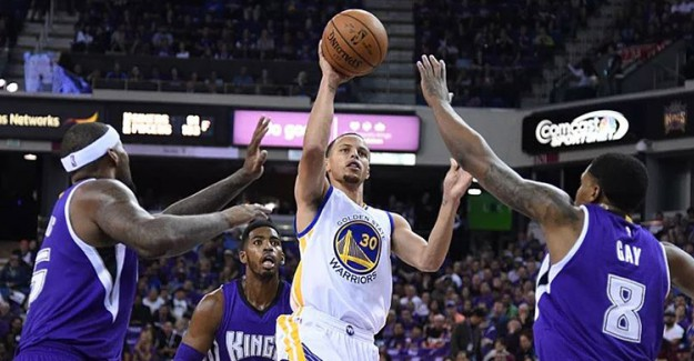 NBA Maç Sonucu: Golden State Warrior 125 - 123 Sacramento Kings