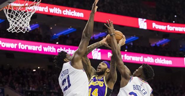 NBA Maç Sonucu: Philadelphia 76ers 143 - 120 Los Angeles Lakers