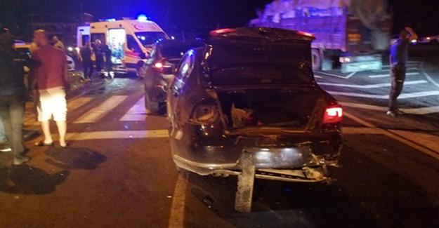 Nevşehir'de Meydana Gelen Zincirleme Kaza Sonucunda 10 Kişi Yaralandı