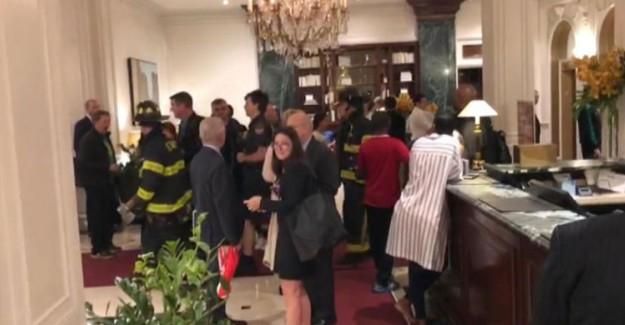 New York'ta Türk Gazetecilerin Kaldığı Otelde Yangın Çıktı!