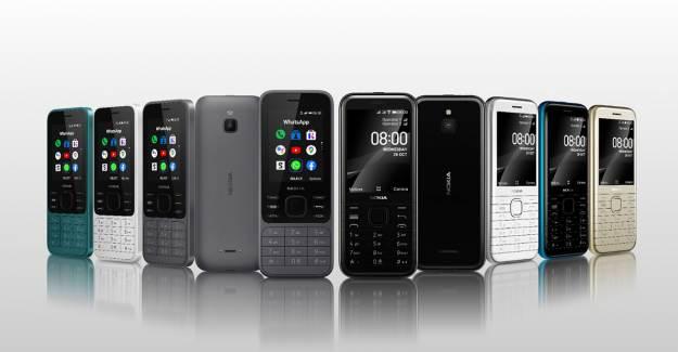 Nokia Akıllı Tuşlu Telefonları 6300 4G ve 8000 4G'yi Duyurdu