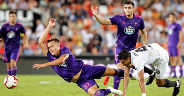 Okay'lı Celta Valencia İle Yenişemedi!
