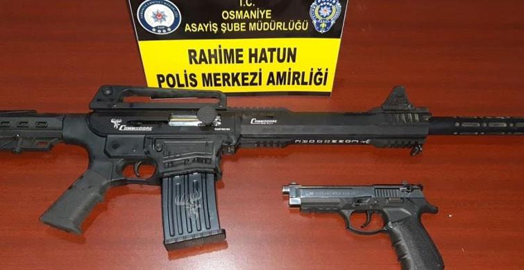 Osmaniye'de Husumetliler Arasında Silahlı Kavga Yaşandı