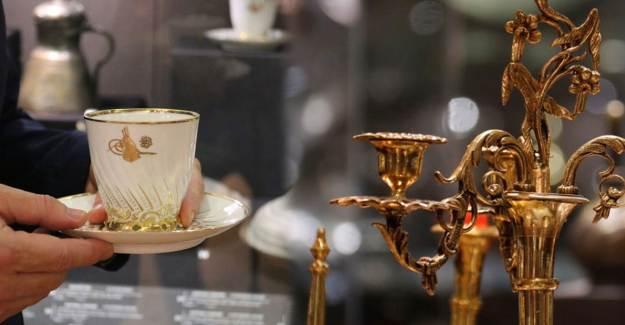 Osmanlı'nın Göz Kamaştıran Mutfak Eşyaları Sergide