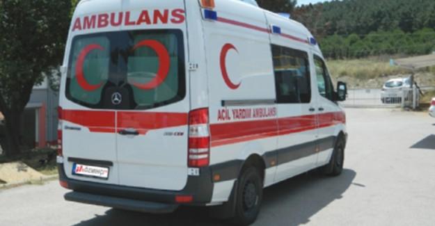 Otobüs İle Vinç Yüklü Kamyon Çarpıştı: 17 Yaralı