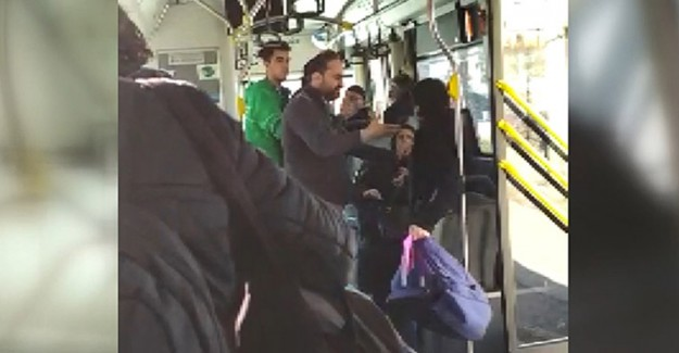 Otobüsteki Kavga Çekirdekten Çıkmış