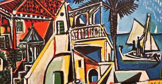 Pablo Picasso'nun Tablosu Çekilişle Verildi