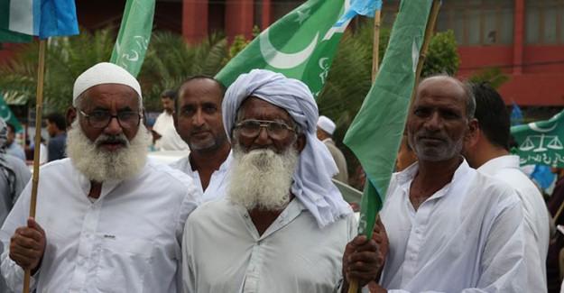 Pakistan'da IMF Anlaşması Protesto Ediliyor
