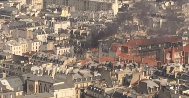 Paris'te Patlama Meydana Geldi! Sebebi Açıklandı!