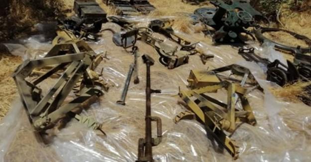 Pençe-2 Harekatı'nda PKK'ya Ait 11 Sığınak İmha Edildi