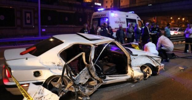 Pendik'te Feci Kaza! Ölü Ve Yaralı Var