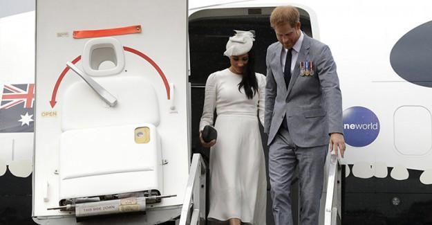 Prens Harry ve Meghan, Fiji'de Kraliyet Töreniyle Karşılandı