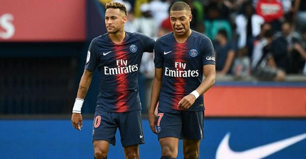 PSG'ye Neymar ve Mbappe'den Kötü Haber!