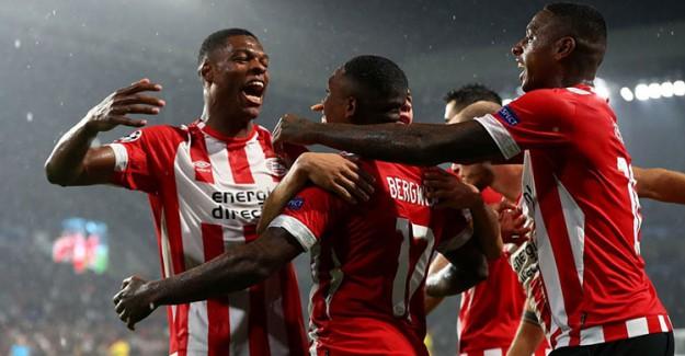 PSV Güle Oynaya Şampiyonlar Ligi'nde!