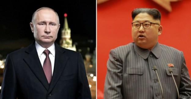 Putin ile Kim Jong-un 25 Nisan'da Bir Araya Gelecek