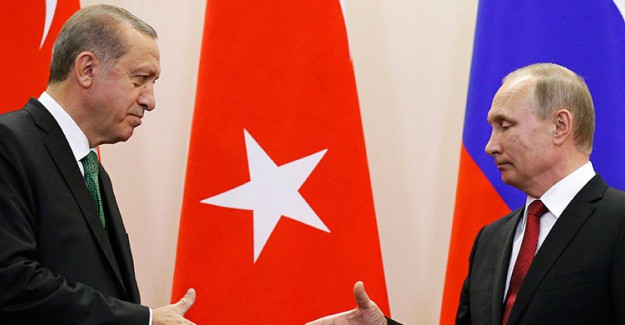 Putin'den Reis-i Cumhur Erdoğan'a Telefon!