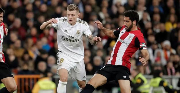 Real Madrid Evinde Bilbao'ya Takıldı