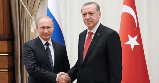 Reis-i Cumhur Erdoğan Putin İle Görüştü!