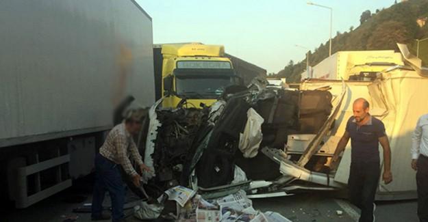 Rize'de Trafik Kazasında 1 Kişi Hayatını Kaybetti, 1 Kişi Yaralandı