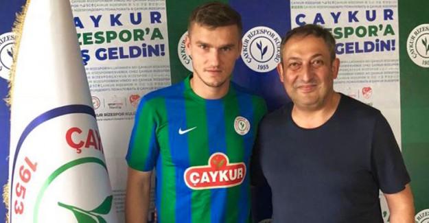 Rizespor'a Ukraynalı Golcü!