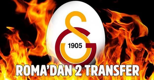 Roma'dan 2 Dünya Yıldızı Galatasaray'a Geliyor!