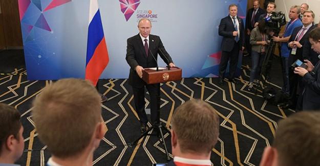 Rus Lider Putin: Suriye İçin Her Türlü Yatırıma Hazırız