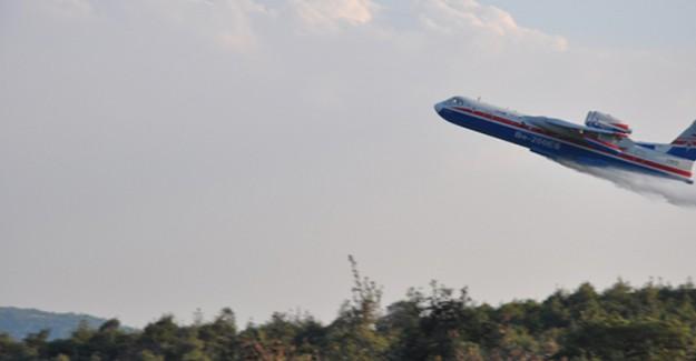 Rus Uçağı Manisa'da Test Edildi