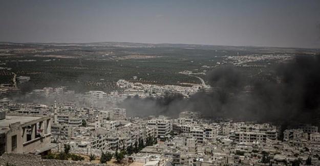 Rus Uçakları Yine İdlib'e Saldırdı: 4 Ölü