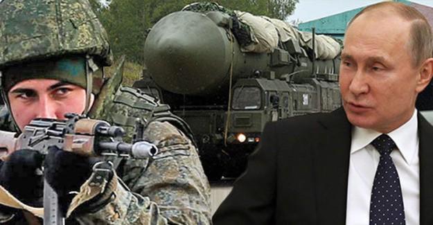 Rusya, Olası Bir Savaş Durumunda Vuracağı 7 Noktayı Açıkladı