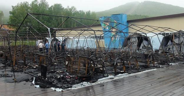 Rusya'da Çocuk Kampında Yangın: 4 Ölü