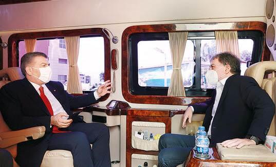 Sağlık Bakanı Fahrettin Koca, Ahmet Hakan'a Konuştu