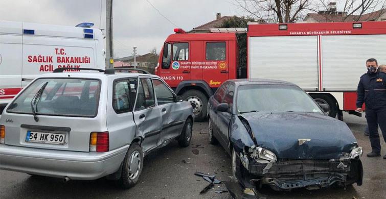 Sakarya'da Korkutan Kaza! 3 Çocuk Yaralı