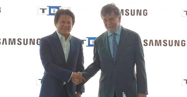Samsung Electronics Türkiye Ve Türkiye Bilişim Vakfı'ndan İşbirliği