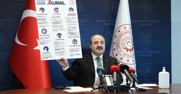 Sanayi ve Teknoloji Bakanı Varank Açıkladı: Fırsatçılık Yapanlar Hiçbir Şekilde Desteklerden Yararlanamayacak