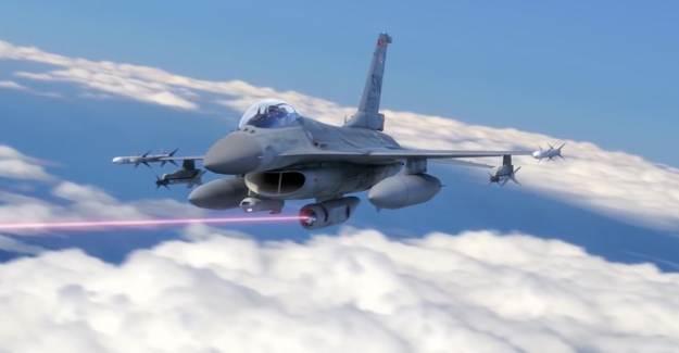 Savaş Uçaklarına SHIELD Projesiyle Lazer Silahı Eklenecek