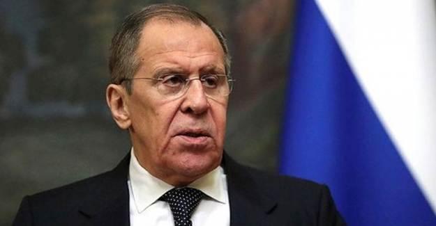 Sergey Lavrov'dan Türkiye Mesajı