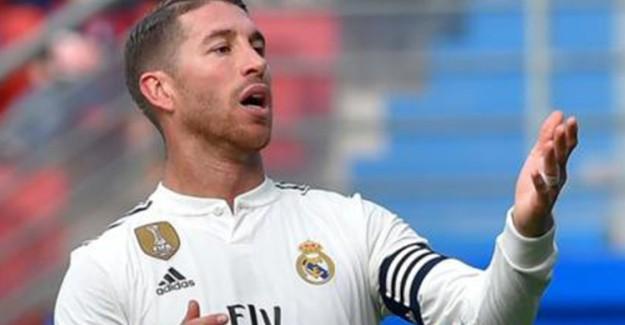 Sergio Ramos'a UEFA Şoku!