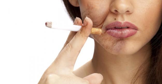 Sigara İçmenin Cilt Sağlığına Zararları