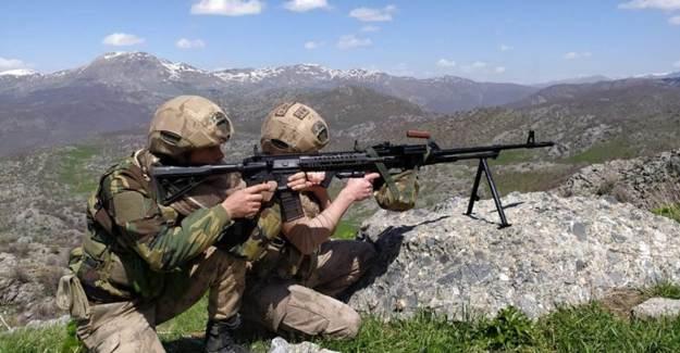 Siirt'te PKK'nın Silah Ve Mühimmat Ele Geçirildi