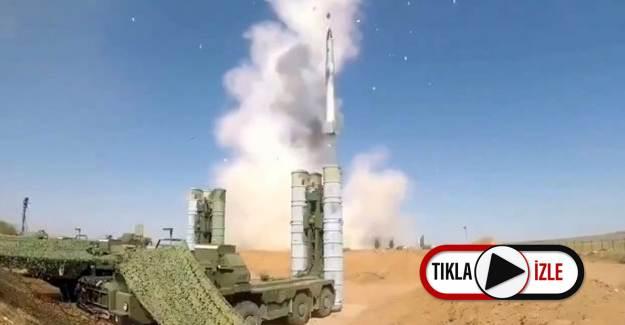 Sinop'ta Testleri Yapılan S-400'lerin Ateşlendiği Dakikaların Yeni Görüntüleri Ortaya Çıktı