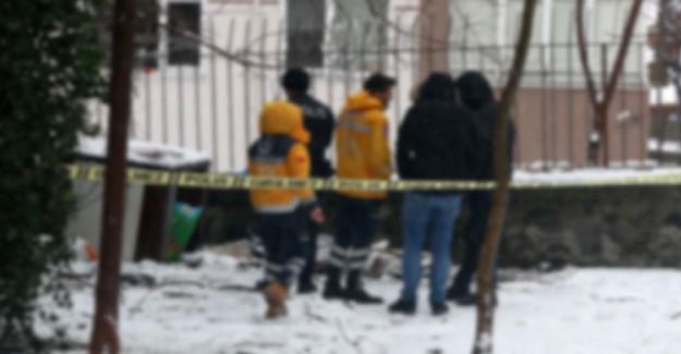 Şişli'de Bir Kişi Karlar Üzerinde Ölü Olarak Bulundu