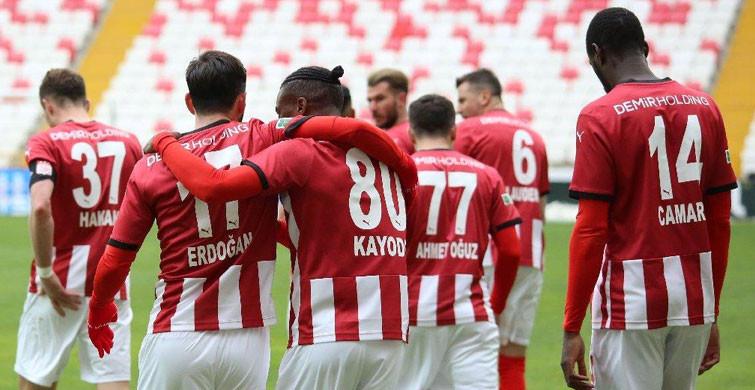 Sivasspor Deplasmanda Galip Geldi